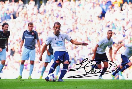 Roberto Soldado, Tottenham Hotspur & Spain, signed 12x8 inch photo.